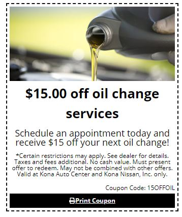 $15 Off Oil Change Services
