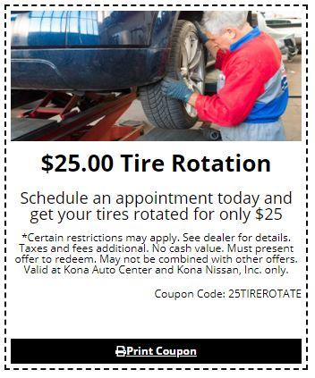 $25 Tire Rotation